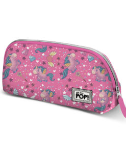 Necessaire Unicórnio Oh My Pop Rosa Magic