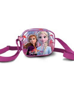 "Bolsa Frozen ""Believe in The Journey"" Quadrada"