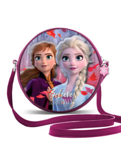 "Bolsa Frozen ""Believe in The Journey"" Redonda"