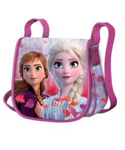 "Bolsa Frozen ""Believe in The Journey"" Tiracolo Oval"
