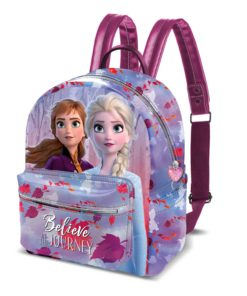 "Mochila Frozen ""Believe in The Journey"" Pequena"