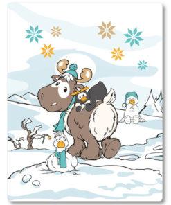 Manta Nici Rena e Pinguim Frizzy