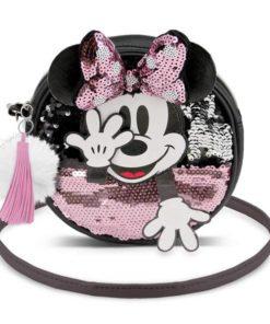 "Bolsa Minnie ""Shy"" Redonda"