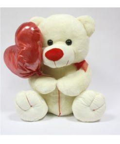 Peluche Urso c/ Balão de Coração 35cm