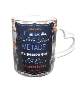 """Caneca Pai Asa Coração """"Ter-te por Perto"""" Madeira"""