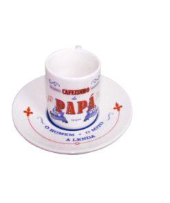 """Chávena de Café """"Cafezinho do Papá"""""""