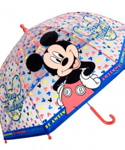 "Guarda Chuva Mickey Transparente ""Hey Mickey"""