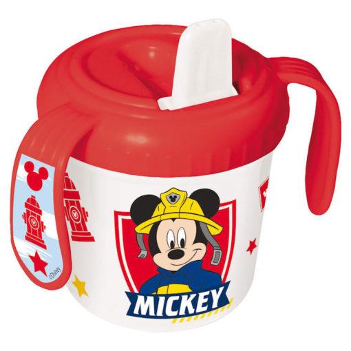 Copo Mickey c/ Bocal Bombeiro