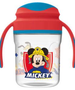 Copo Mickey c/ Pegas Bombeiro