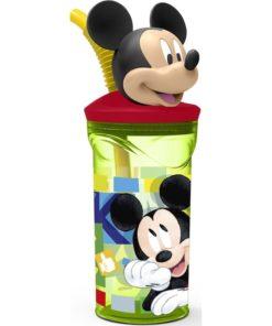 """Copo Mickey 3D Verde """"Watercolor"""""""