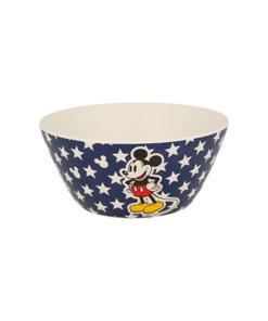 Taça em Bambú Mickey Azul c/ Estrelas