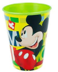 """Copo Mickey Verde """"Watercolor"""""""