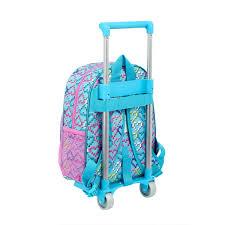"""Trolley LOL Infantil Azul """"Hearts"""""""