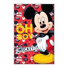 "Manta Mickey Flanela ""Oh Boy"""