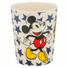 Copo em Bambú Mickey c/ Estrelas Azuis