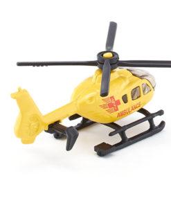 Helicóptero Ambulância Siku Amarelo