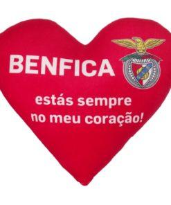 Almofada Sport Lisboa e Benfica Coração