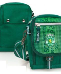 Bolsa Tiracolo Sporting Clube de Portugal Verde
