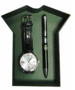 Conjunto Sporting Clube Portugal Relógio e Caneta