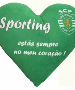 Almofada Sporting Clube de Portugal Coração