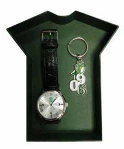 Conjunto Sporting Relógio e Porta Chaves