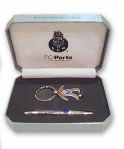 Conjunto Porto Caneta e Porta Chaves Boneco