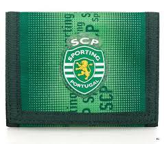 Carteira Sporting Clube de Portugal Verde