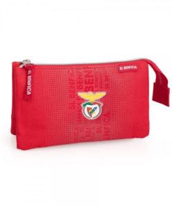 Estojo Triplo Sport Lisboa e Benfica Vermelho