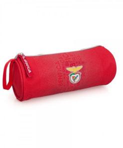 Estojo Redondo Sport Lisboa e Benfica Vermelho