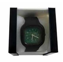 Relógio Sporting Clube Portugal Preto Fundo Verde
