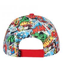 """Boné Avengers Azul e Vermelho """"Marvel"""""""