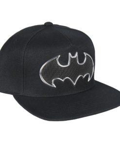 Boné Batman Preto c/ Simbolo Relevo