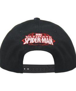 Boné Cap Spiderman Preto c/ Aranha Vermelha