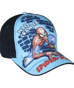 "Boné Spiderman Azul ""Wall Crawler"""