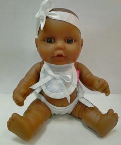 Boneco Mini Baby com Fita Branca Perfumado