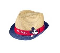Chapéu de Palha Mickey Barra Vermelho