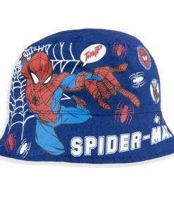 Panamá Spiderman Vermelho e Azul Reversível