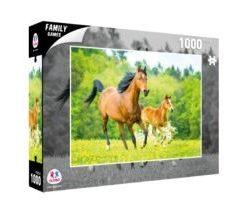 Puzzle Cavalo e Potro a Correr 1000 Peças