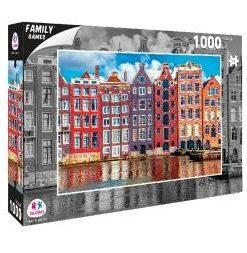 Puzzle Cidade Amesterdão 1000 Peças