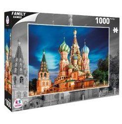 Puzzle Cidade Moscovo 1000 Peças