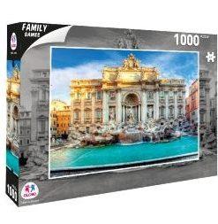 Puzzle Cidade Roma 1000 Peças