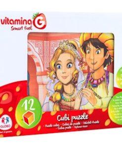Puzzle em Cubos História Aladino