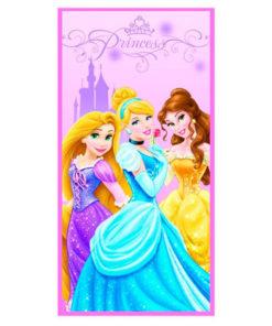Toalha de Praia 3 Princesas Disney