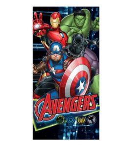 Toalha de Praia Avengers 4 Personagens
