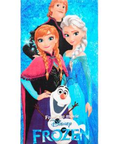Toalha de Praia Frozen 4 Personagens