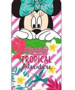 Toalha de Praia Minnie Laço Recortado Tropical