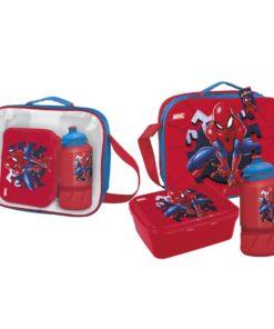 Lancheira Spiderman c/ Cantil e Sandwicheira