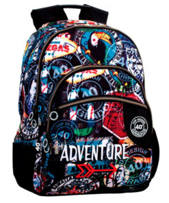 "Mochila Escolar 40 Graus ""Adventure"""