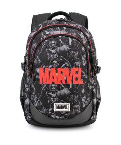 Mochila Escolar Marvel 3 Fechos