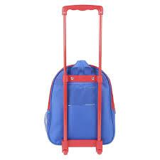 Trolley Spiderman Infantário Metalizado